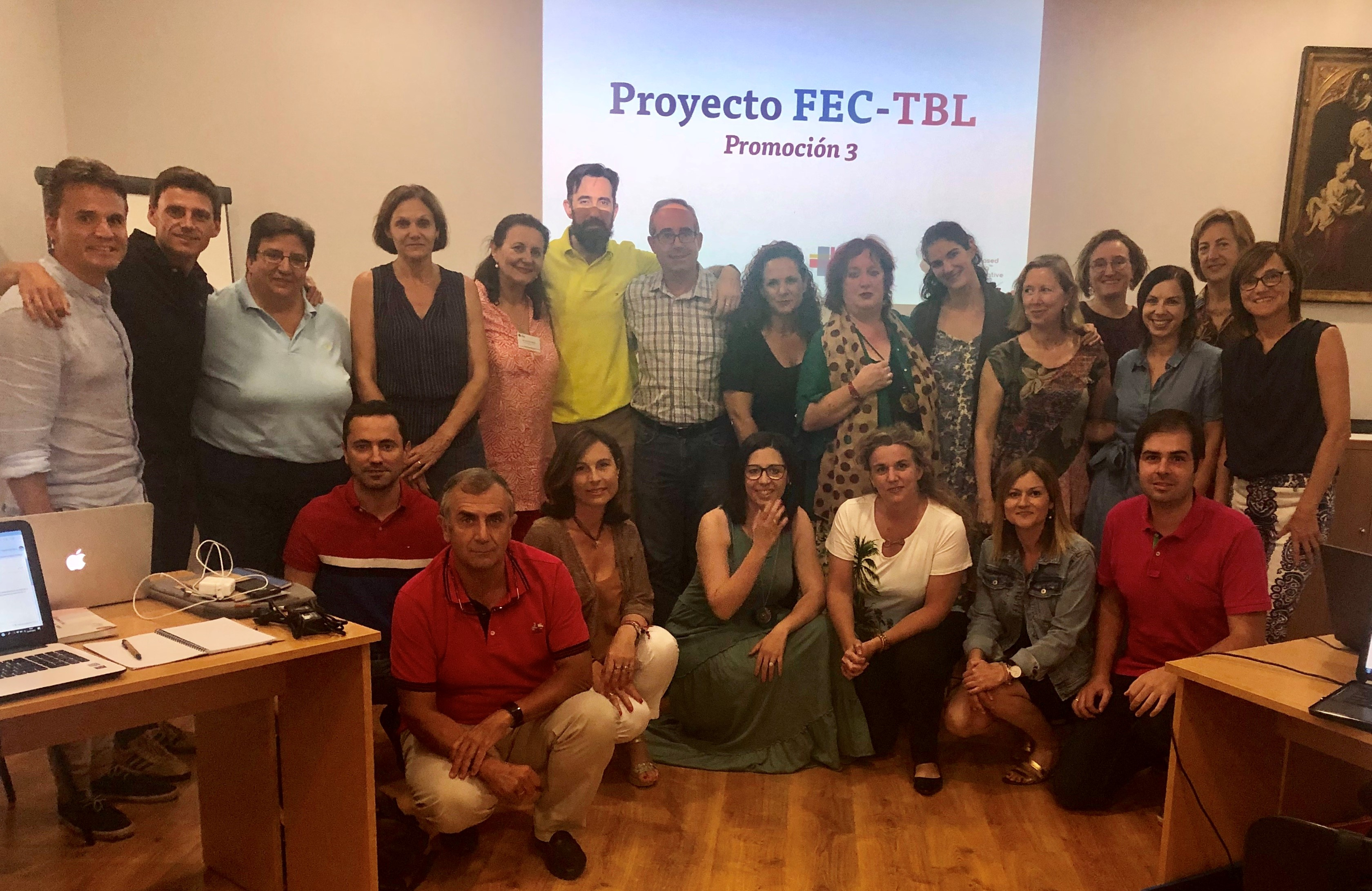 Tercera promoción de profesores que se incorpora a la Comunidad de Aprendizaje FEC-TBL